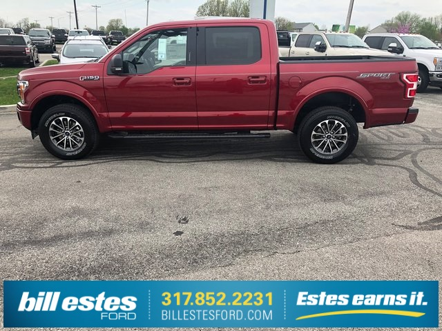 2018 F-150 SuperCrew Cab 4x4,  Pickup #T8575 - photo 9