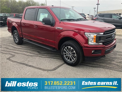 2018 F-150 SuperCrew Cab 4x4,  Pickup #T8575 - photo 4