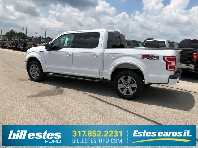 2018 F-150 SuperCrew Cab 4x4,  Pickup #T8642 - photo 8