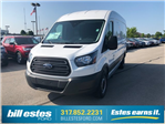 2018 Transit 250 Med Roof 4x2,  Empty Cargo Van #T8643 - photo 1