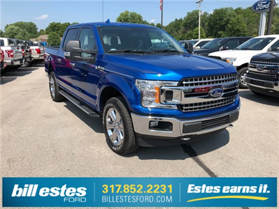 2018 F-150 SuperCrew Cab 4x4,  Pickup #T8778 - photo 4