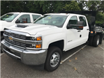 2017 Silverado 3500 Crew Cab DRW 4x4, Knapheide Value-Master X Platform Body #CM17159 - photo 1