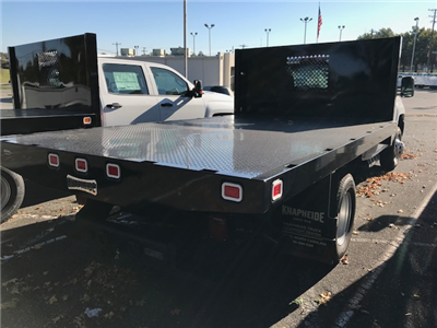 2017 Silverado 3500 Regular Cab DRW, Knapheide Value-Master X Platform Body #CM17203 - photo 2