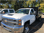 2017 Silverado 3500 Regular Cab DRW, Knapheide Value-Master X Platform Body #CM17203 - photo 1