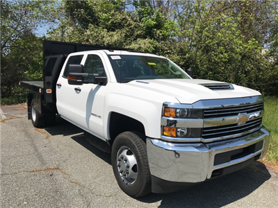 2017 Silverado 3500 Crew Cab DRW 4x4, Knapheide Value-Master X Platform Body #CM1786 - photo 1