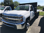 2018 Silverado 3500 Regular Cab DRW 4x4,  Knapheide Platform Body #CM18160 - photo 1