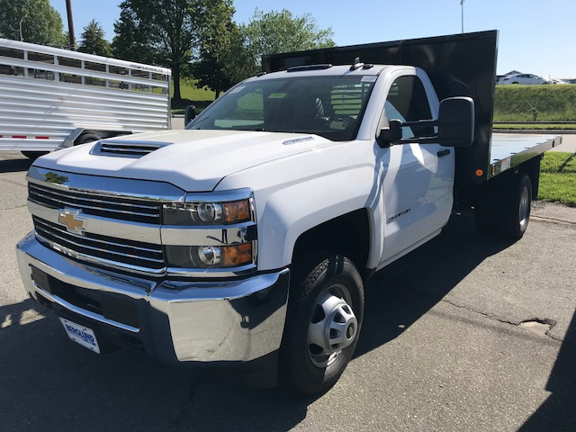 2018 Silverado 3500 Regular Cab DRW 4x4,  Freedom Workhorse Platform Body #CM18162 - photo 1