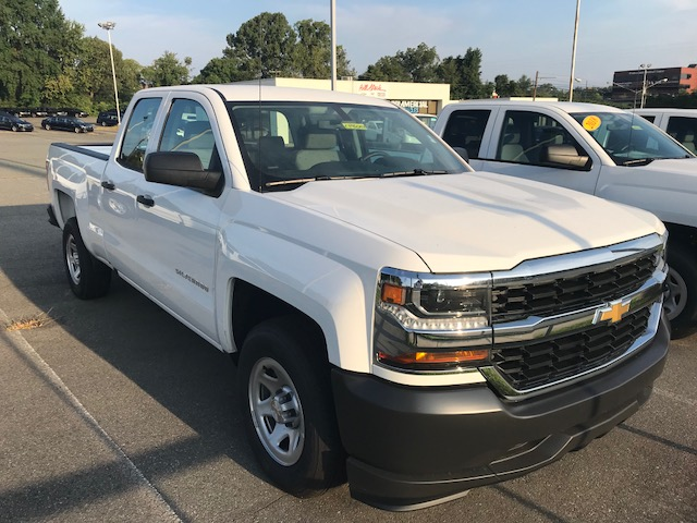 2018 Silverado 1500 Double Cab 4x2,  Pickup #CM18247 - photo 1