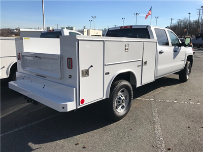 2018 Silverado 2500 Crew Cab 4x4, Service Body #CM1867 - photo 2