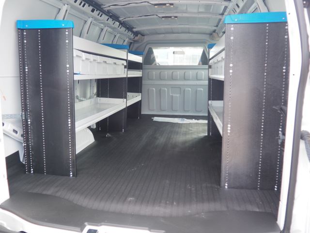 2019 Chevrolet Express 3500 4x2,  Sortimo Empty Cargo Van #CM19130 - photo 1