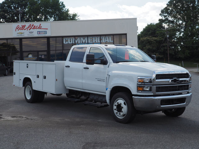 2019 Chevrolet Silverado 5500 Crew Cab DRW 4x2, Knapheide Steel Service Body #CM19223 - photo 1