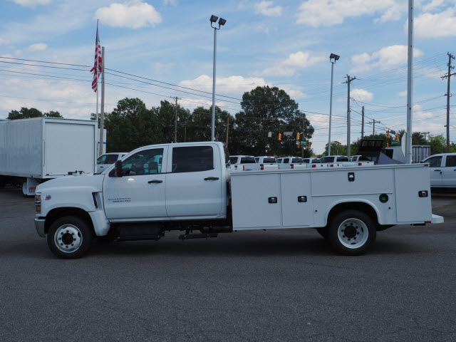 2019 Chevrolet Silverado 5500 Crew Cab DRW 4x2, Knapheide Steel Service Body #CM19223 - photo 4