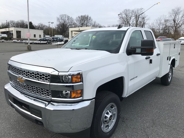 2019 Chevrolet Silverado 2500 Double Cab 4x2, Knapheide Service Body #CM19255 - photo 1