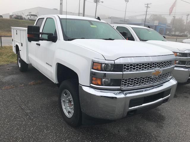 2019 Chevrolet Silverado 2500 Double Cab 4x2, Knapheide Service Body #CM19276 - photo 1