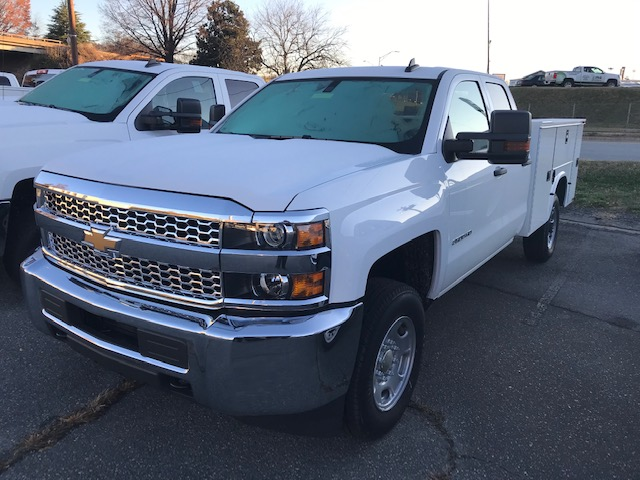 2019 Chevrolet Silverado 2500 Double Cab 4x4, Knapheide Service Body #CM19283 - photo 1