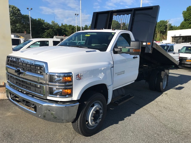 2019 Chevrolet Silverado 5500 Regular Cab DRW 4x2, Knapheide Platform Body #CM1997 - photo 1