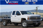 2018 Silverado 2500 Double Cab 4x4, Cab Chassis #54441 - photo 1
