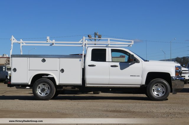 2018 Silverado 2500 Double Cab 4x4, Service Body #F2240 - photo 3