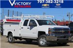2018 Silverado 2500 Double Cab 4x4, Service Body #F2240 - photo 1
