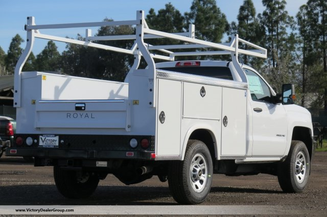 2018 Silverado 3500 Regular Cab 4x4,  Royal Service Body #F2244 - photo 2