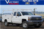 2018 Silverado 2500 Double Cab, Service Body #F2245 - photo 1