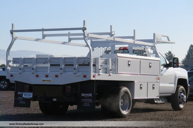 2018 Silverado 3500 Regular Cab DRW 4x2,  Knapheide Contractor Body #F2278 - photo 2