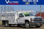 2018 Silverado 3500 Regular Cab DRW 4x2,  Knapheide Contractor Body #F2278 - photo 1