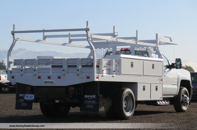 2018 Silverado 3500 Regular Cab DRW 4x2,  Knapheide Contractor Body #F2280 - photo 2