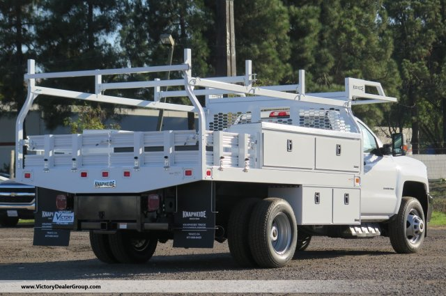 2018 Silverado 3500 Regular Cab DRW 4x2,  Knapheide Contractor Body #F2281 - photo 2
