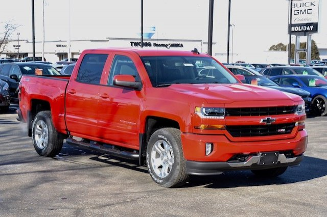 2017 Silverado 1500 Crew Cab 4x4, Pickup #17C376 - photo 5