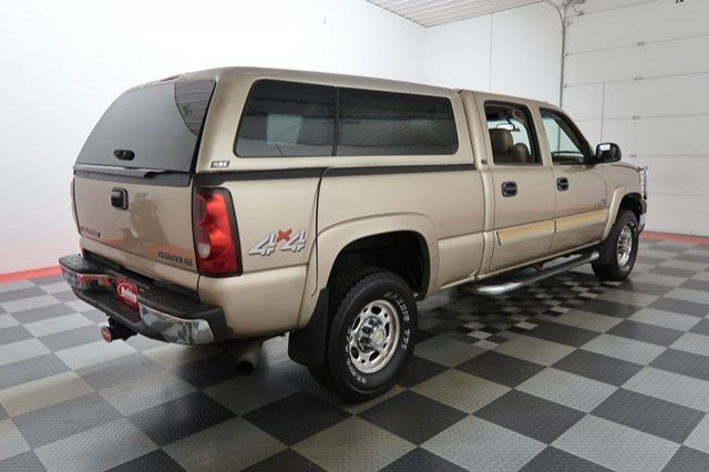 2004 Silverado 2500 Crew Cab 4x4 Pickup #17C678A - photo 5