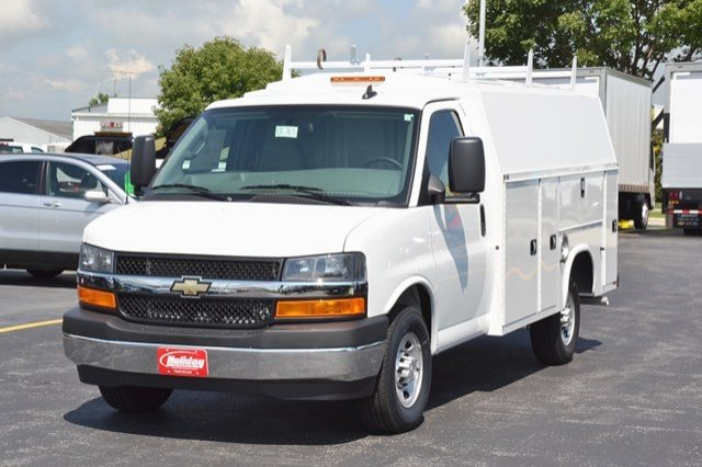 2017 Express 3500, Knapheide Service Utility Van #17C765 - photo 3