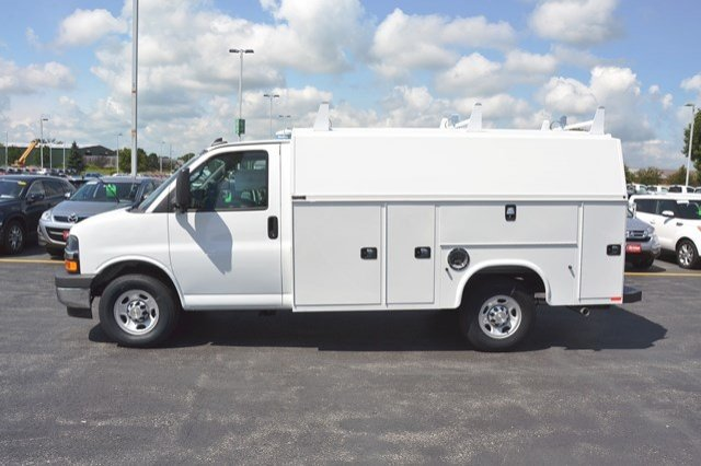 2017 Express 3500, Knapheide Service Utility Van #17C765 - photo 4