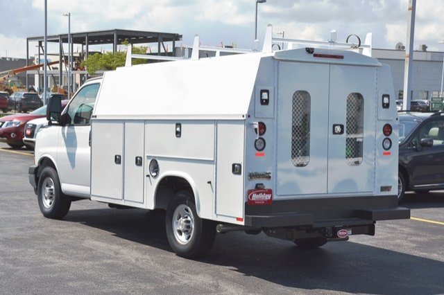 2017 Express 3500, Knapheide Service Utility Van #17C765 - photo 2