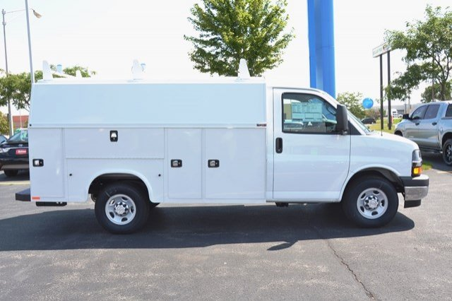 2017 Express 3500, Knapheide Service Utility Van #17C765 - photo 7