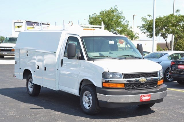 2017 Express 3500, Knapheide Service Utility Van #17C765 - photo 8