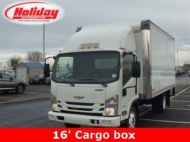 2018 LCF 4500 Regular Cab 4x2,  Morgan Fastrak Dry Freight #18C931 - photo 1