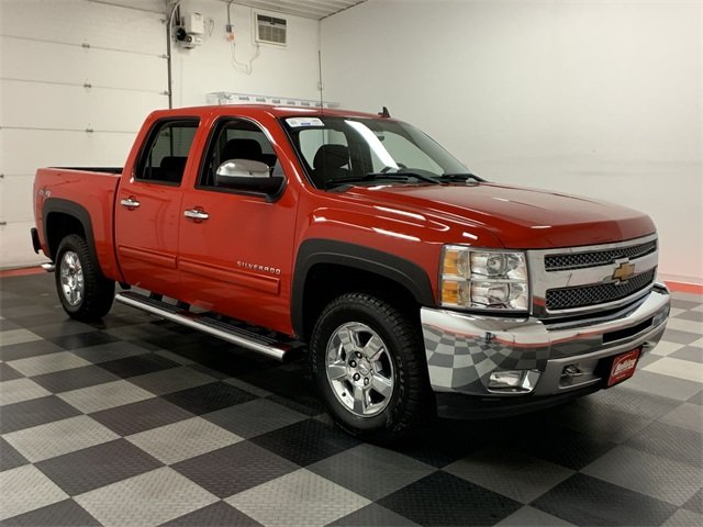 2012 Silverado 1500 Crew Cab 4x4,  Pickup #19C181A - photo 10