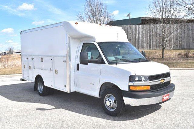 2019 Express 3500 4x2,  Supreme Service Utility Van #19C336 - photo 11