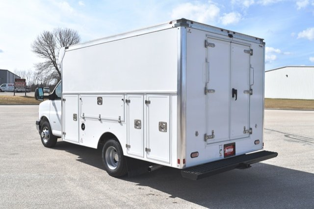 2019 Express 3500 4x2,  Supreme Spartan Service Utility Van #19C336 - photo 2