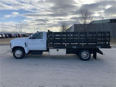2019 Silverado 5500 Regular Cab DRW 4x2, Monroe Stake Bed #19C812 - photo 1