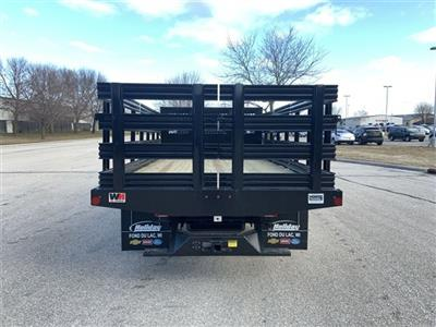 2019 Silverado 5500 Regular Cab DRW 4x2, Monroe Stake Bed #19C812 - photo 2