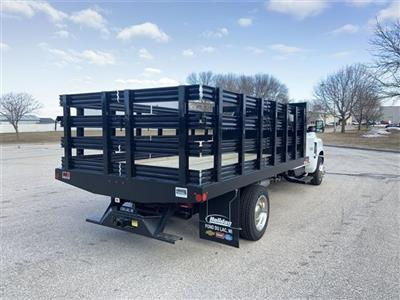 2019 Silverado 5500 Regular Cab DRW 4x2, Monroe Stake Bed #19C812 - photo 5