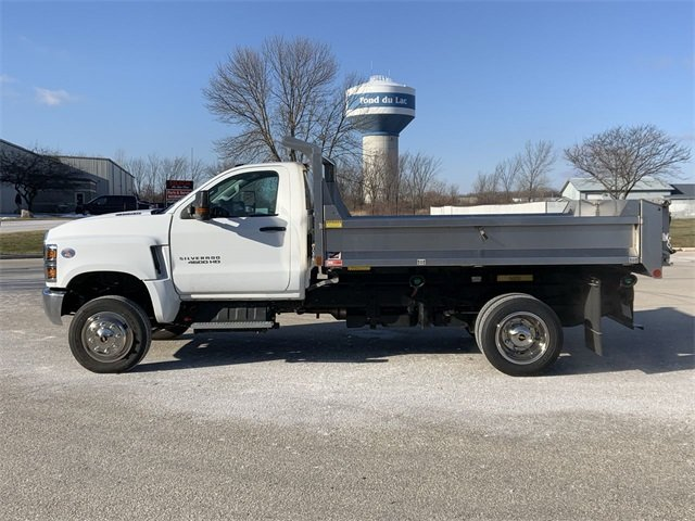 2019 Silverado 4500 Regular Cab DRW 4x4, Monroe MTE-Zee SST Series Dump Body #19C830 - photo 18