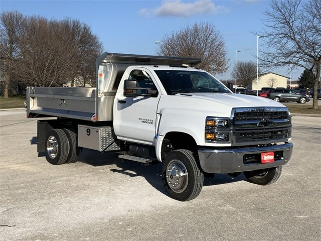 2019 Silverado 4500 Regular Cab DRW 4x4, Monroe Dump Body #19C830 - photo 1