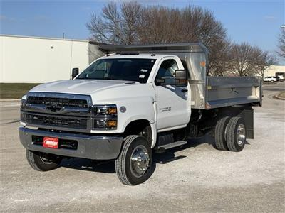2019 Silverado 4500 Regular Cab DRW 4x4, Monroe MTE-Zee SST Series Dump Body #19C830 - photo 17