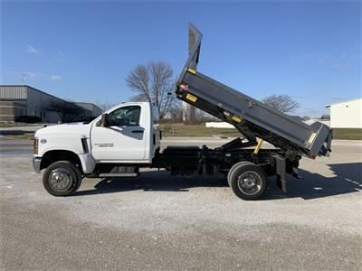2019 Silverado 4500 Regular Cab DRW 4x4, Monroe MTE-Zee SST Series Dump Body #19C830 - photo 19