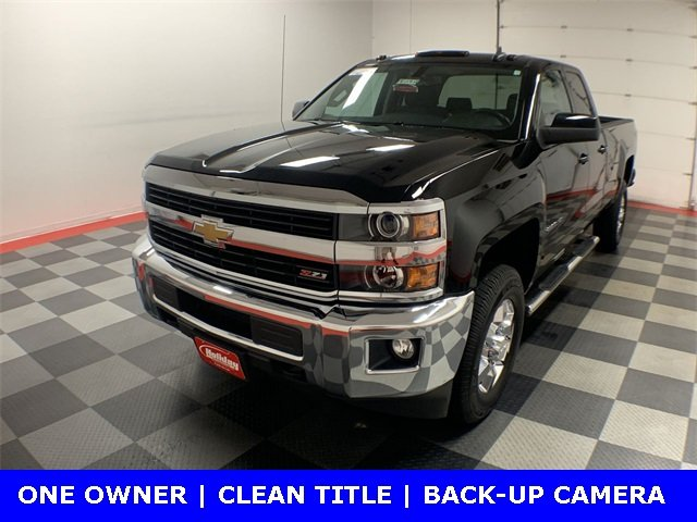 2015 Silverado 2500 Double Cab 4x4,  Pickup #19G540A - photo 1