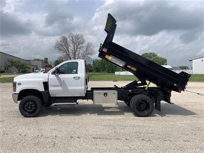 2020 Chevrolet Silverado 4500 Regular Cab DRW 4x4, Monroe MTE-Zee Dump Body #20C311 - photo 4