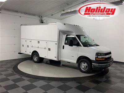 2020 Chevrolet Express 3500 4x2, Supreme Spartan Service Utility Van #20C520 - photo 1